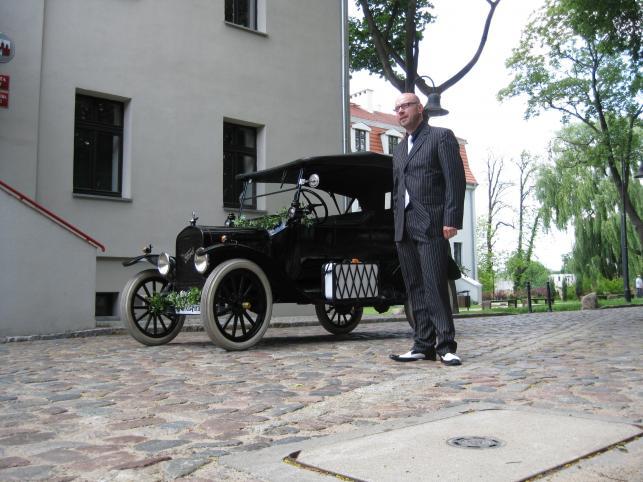 Ford model T i Dariusz Bartosik