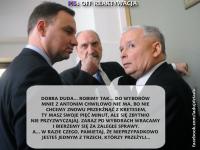Kaczyński musztruje Dudę, a Kwaśniewski i Miller tworzą nową partię. MEMY DNIA