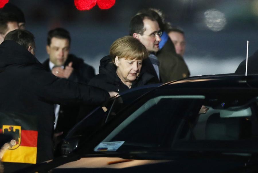 Angela Merkel w Moskwie