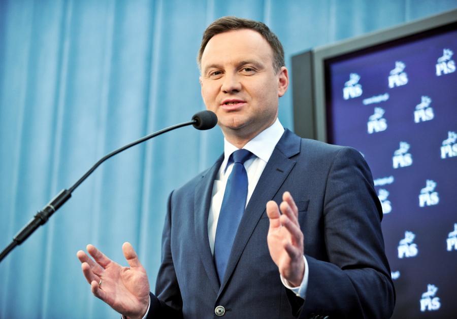 Kandydat PiS na prezydenta RP, europoseł Andrzej Duda