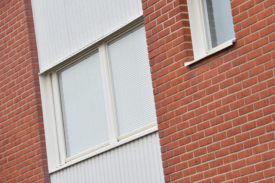 Okna mieszkania w Bromölla
