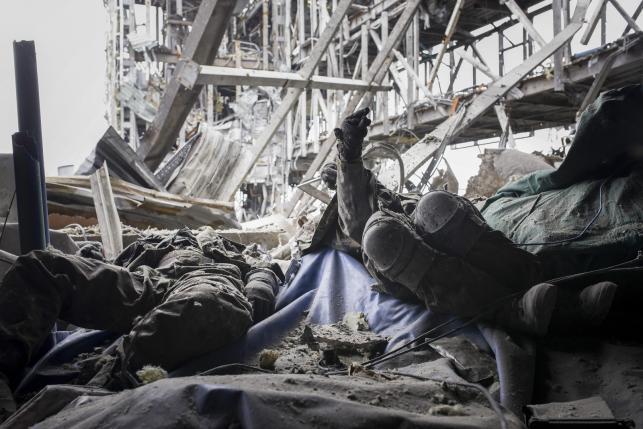 Lotnisko w Doniecku kompletnie zniszczone