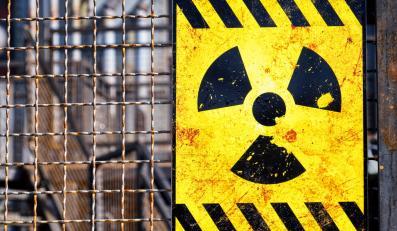Ostrzeżenie przed radioaktywnością