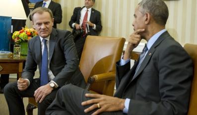Spotkanie Tuska z Obamą