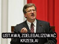 Duda prezydentem biskupów i Komorowskiego walka z krzesłami. MEMY DNIA