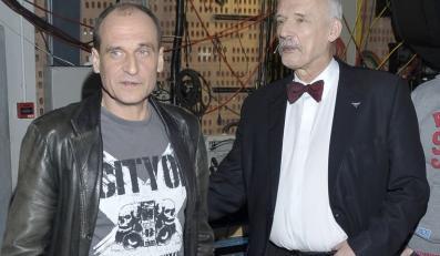 Paweł Kukiz, Janusz Korwin-Mikke