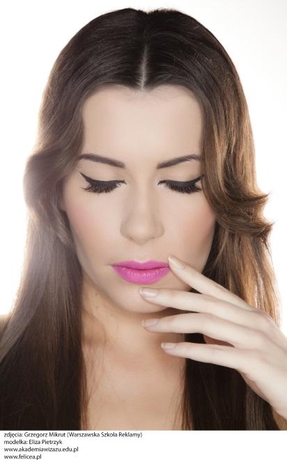 Modny makijaż dla brunetki na wiosnę 2015