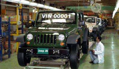 Nowy jeep już się robi!