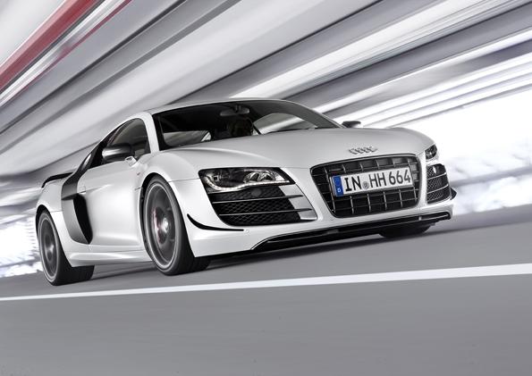 Audi R8 GT - mocniejsze, lżejsze, szybsze!