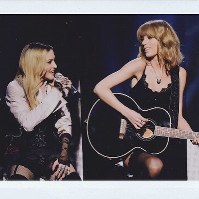 Taylor Swift i Madonna na gali iHeartRadio Music Awards