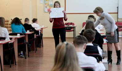Sprawdzian szóstoklasistów w szkole podstawowej nr 21 w Gorzowie Wielkopolskim