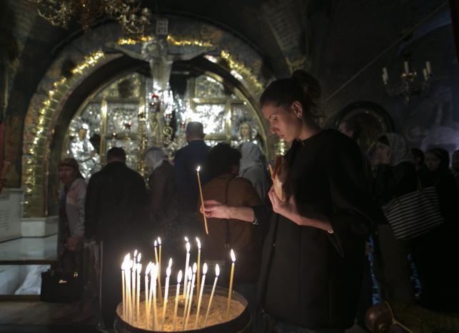 Bazylika Grobu Świętego w Jerozolimie. Misteria Wielkiego Tygodnia