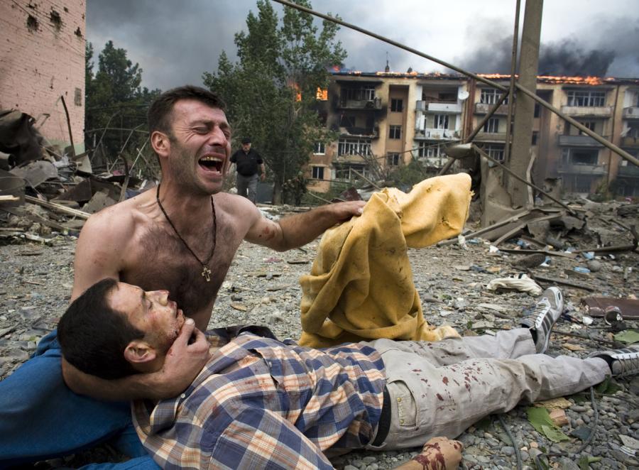 Awantura o raport z wojny w Gruzji