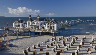 Pier, Rugia, Niemcy