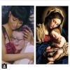 Nicki Minaj jak Madonna z dzieciątkiem