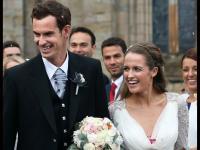 Andy Murray do ślubu ubrał się w plisowaną spódnicę w kratę. ZDJĘCIA
