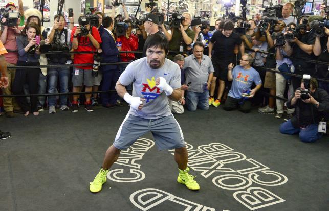 Manny Pacquiao szykuje się do walki z Floydem Mayweatherem Jr.