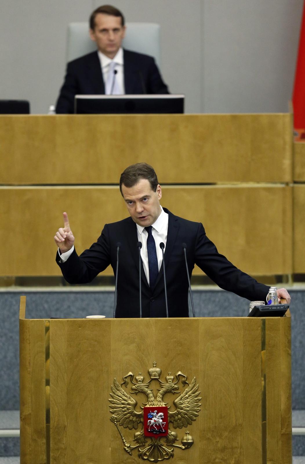 Premier Rosji Wiktor Miedwiediew