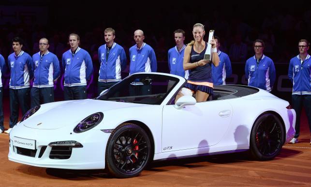 Kerber wygrała w Stuttgarcie piękne auto