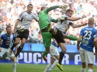 Puchar Polski w rękach piłkarzy Legii. Lech przegrał w finale 1:2