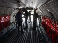 15 ton pomocy. Polskie wojsko poleciało do Nepalu. ZDJĘCIA