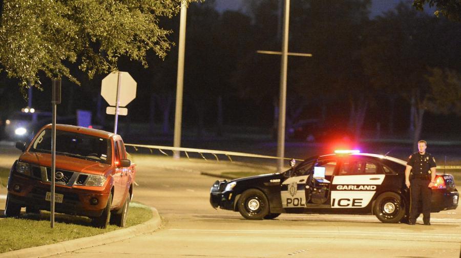 Policja z teksaskiego Garland
