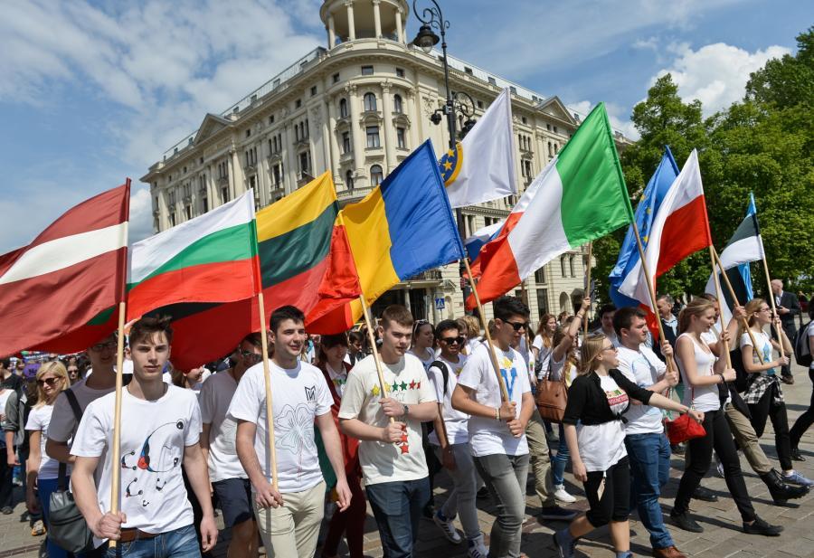 Parada Schumana w Warszawie