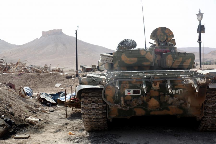 Walki o Palmyrę
