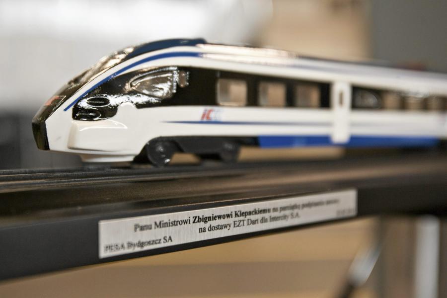Miniatura pociągu Dart