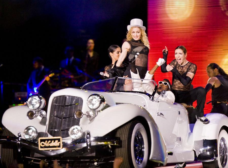 Madonna po raz pierwszy wystąpiła w Polsce