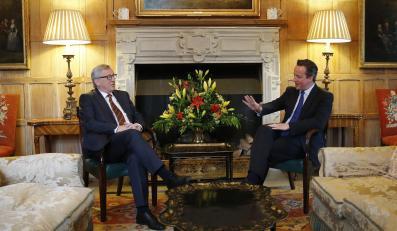 David Cameron i Jean-Claude Juncker