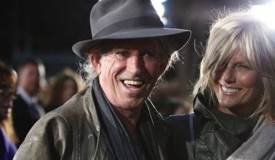 Keith Richards z płytą po wakacjach