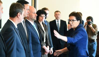 Ewa Kopacz i ministrowie