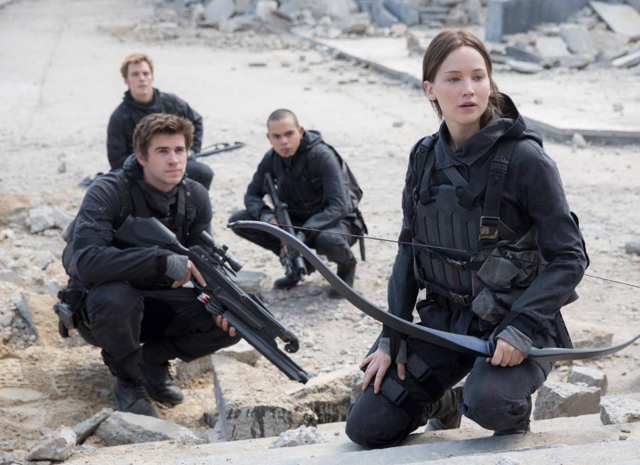 Uzbrojona Jennifer Lawrence