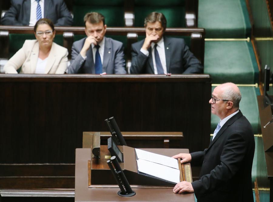 Andrzej Seremet w Sejmie