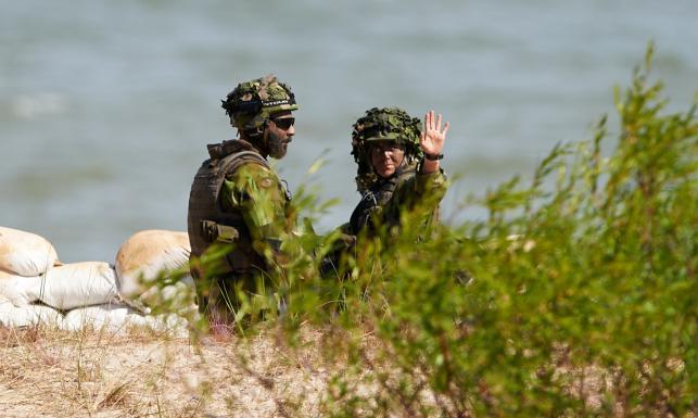 Wpadka na manewrach NATO w Ustce? Zatonęła... amfibia. ZDJĘCIA