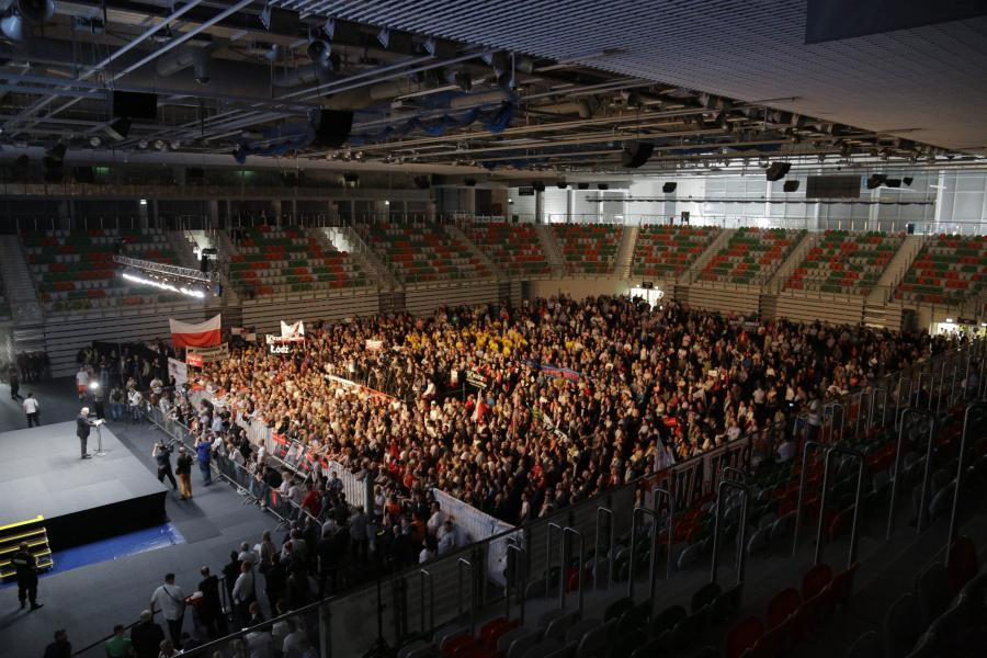 Zjazd zwolenników Pawła Kukiza