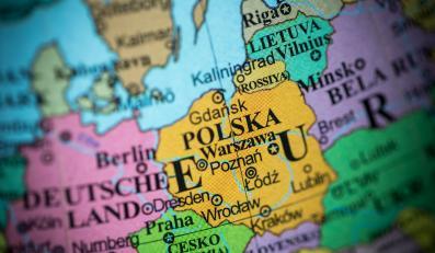 Polska na mapie Europy