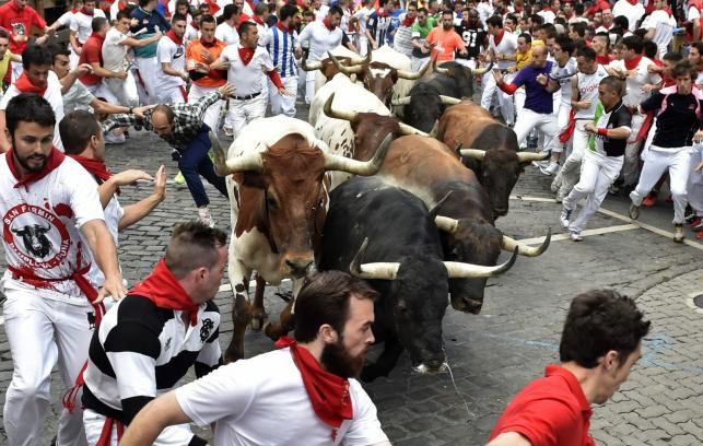 Festiwal San Fermin w Hiszpanii