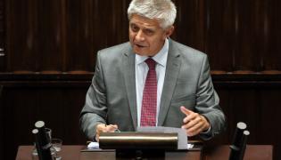 Prezes NBP Marek Belka w Sejmie