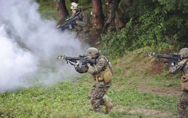 Ćwiczenia militarne na Ukrainie