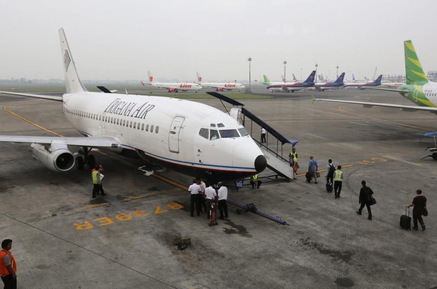 Samolot należący do linii Trigana Air