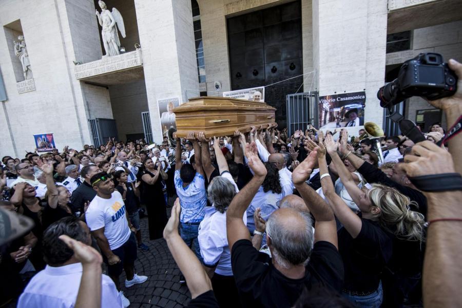 Pogrzeb szefa włoskiej mafii