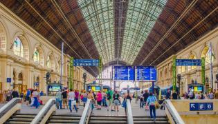 Dworzec w Budapeszcie