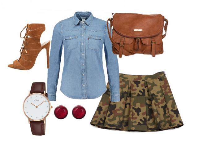 Brąz - modny akcent na jesień. STYLIZACJE