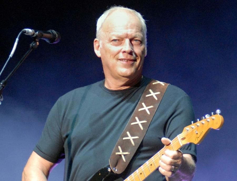 David Gilmour nagrywa \