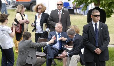 Szef prezydenckiej ochrony zawieszony