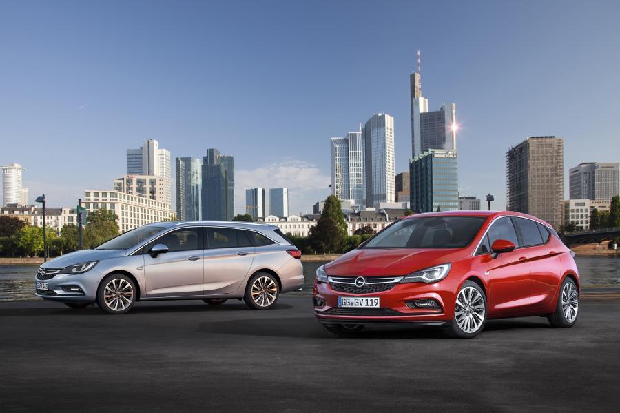 Opel astra sports tourer i astra 5d