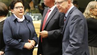 Teresa Piotrowska w Brukseli