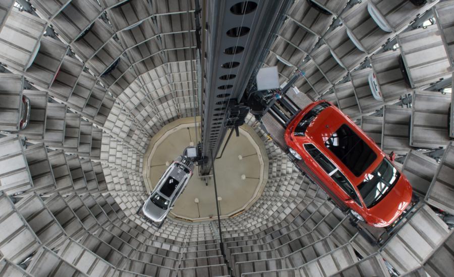 Samochodowe miasto Volkswagena